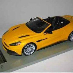 1:18 Tecnomodel Aston Martin Vanquish Volante yellow Limited Edition 25 pieces