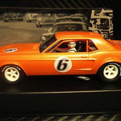 PIONEER SLOT CAR J-CODE SPECIAL 1968 NOTCHBACK MUSTANG TOOL TEST ASSEMBLY