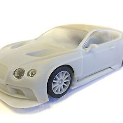 Scalextric Archive- Prototype Bentley Continental -Charity Auction for Toy Trust