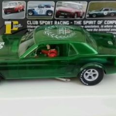 PIONEER NSCC P058 50 YEARS OF MUSTANG 1 OF 250 MADE SLOT CAR