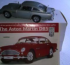 Aston Martin DB5 1/24th Scale passenger Diecast Car by Danbury Mint replica