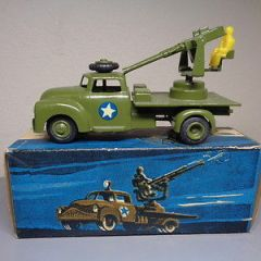 VILMER DENMARK No 461 VINTAGE 1950'S DODGE MILITARY CANNON TRUCK VERY RARE MIB