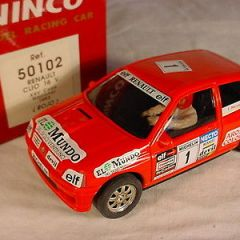 Ninco Renault Clio 16v #1 50102 Red Copa National MB slot car