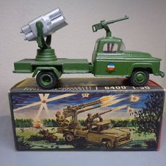 VILMER 460 VINTAGE 1950'S CHEVROLET MILITARY ROCKET BATTERY TRUCK VERY RARE NMIB
