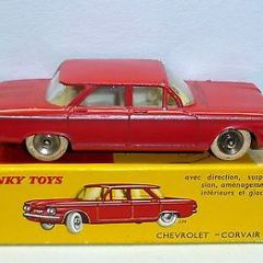 Dinky Toys 552 Chevrolet Corvair EXIB Diecast Vintage Car French France