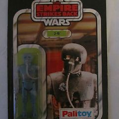 STAR WARS ESB PALITOY VINTAGE CARDED FIGURE 30 BACK 2-1B TOO ONE BEE MOC EMPIRE