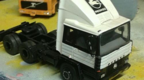 Asam hartsmith 1/48 pegaso 6×4 tractor unit factory built whitemetal not diecast
