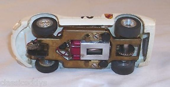 strombecker-porsche-carrera-1-32-scale-brass-chassis-slot-car-sharp-built-up-48588