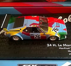 BMW M1 Art Car Andy Warhol Fly 96071 E1301 24 Hrs Le Mans Slot Car 1:32