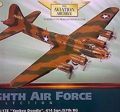 Corgi Die Cast Aircraft B17 Yankee Doodle 1.72 scale WW11