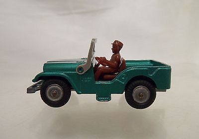 Very Rare Vintage Diecast Husky No. 5 Willys Jeep – VGC!