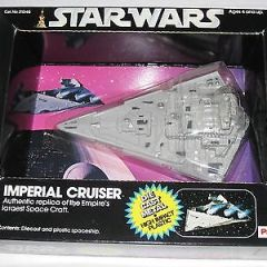 Vintage Star Wars Palitoy Imperial Cruiser Diecast Vehicle Brand New MOC Rare