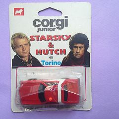 Corgi Juniors 45 Diecast Starsky & Hutch Torino (On Card)