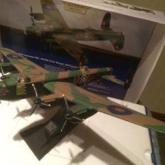 diecast model aircraft.