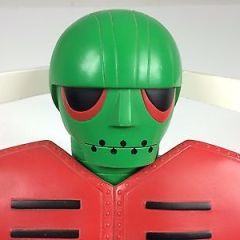 GARADA unifive Jumbo Machinder GREEN japan Robot Giant design MAZINGER vintage