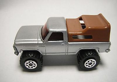 Matchbox Superfast Lesney Preproduction SF22 Ford Mini Pickup- BROWN roof