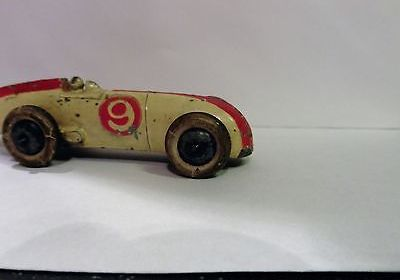 PRE-WAR DINKY 23a – RACING CAR – WITH DRIVER – RARE