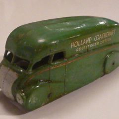 Pre war Dinky 31 Holland Coachcraft van.