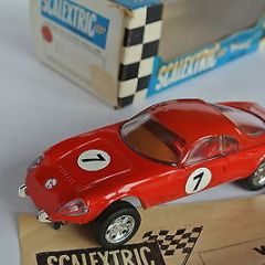 """Scalextric BEAUTIFULL  RARE   BOXED red MATRA JET C2  France """"Race Tuned"""""""