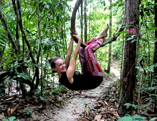 The One Who Wanders backpacking Borneo, Sabah, Malaysia on budget