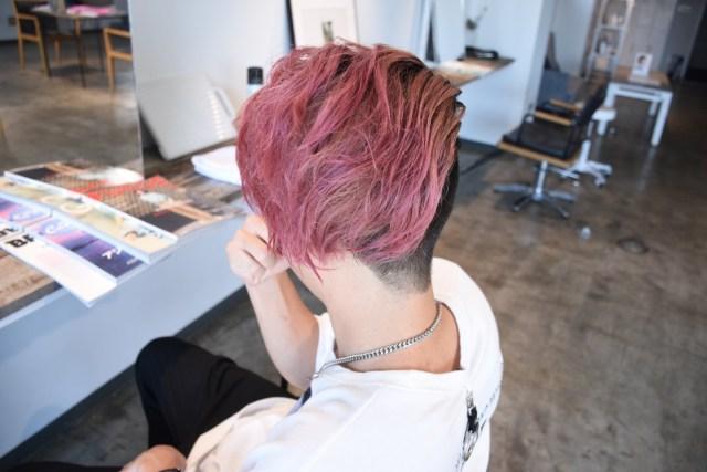 赤髪スタイル