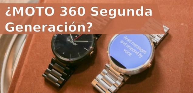 moto 360 Segunda Generacion