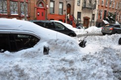 City cars buried in snow (from Wikimedia)