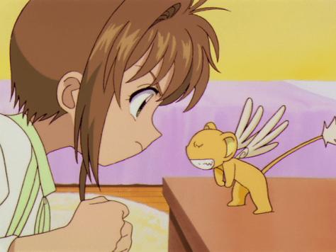 Sakura vs. Kero-chan