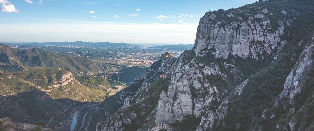 Barcelona Montserrat Landscape