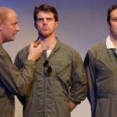Nat McIntyre, Dan Hartley and Rhett Henckel as Goose