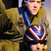Kevin Crouch as Merlin and Dan Hartley