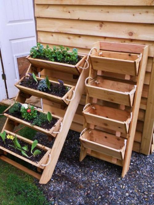 Medium Of Upright Garden Planters