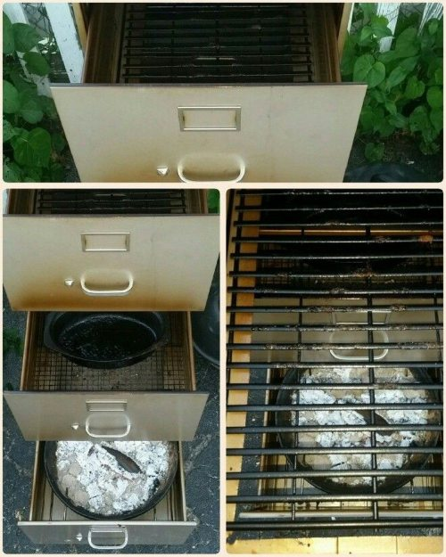 Medium Of File Cabinet Smoker