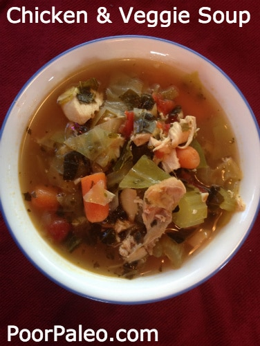 Hearty Chicken and Veggie Soup