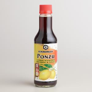 what is ponzu