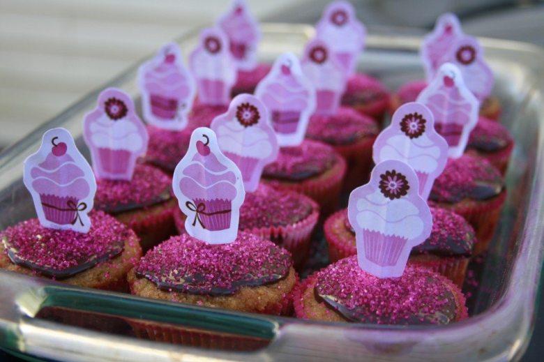 Paleo Cupcake Princess' Vanilla Cupcakes