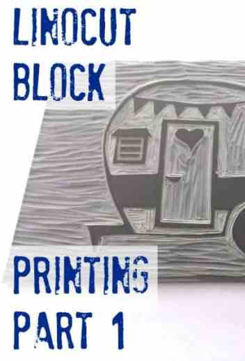 Linocut Block Printing Part 1: Drawing & Carving