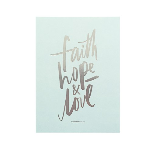 Medium Crop Of Faith Hope Love