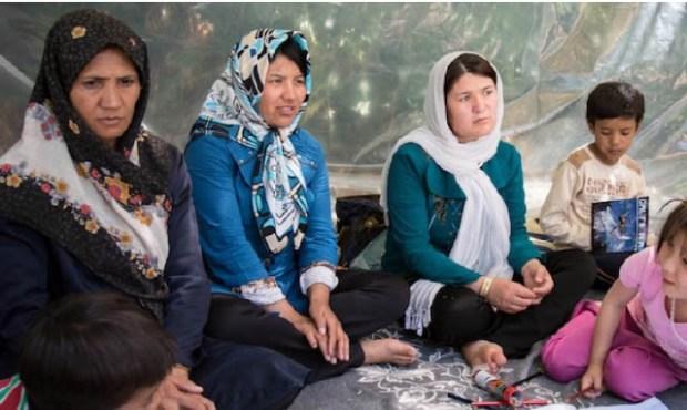 Afghan Refugess EU