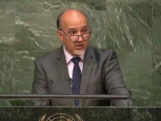 Kabul's Permanent Representative Mahmoud Saikal