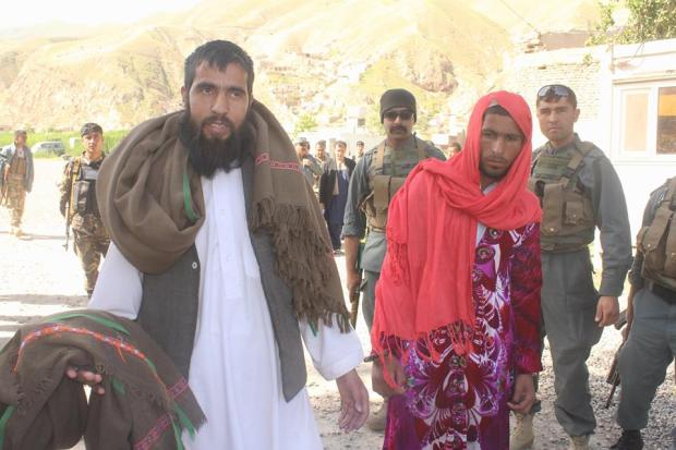 Taliban-couple-arrested-in-Baghlan