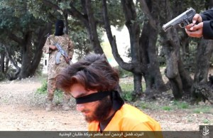 ISIS-execute-Taliban-fighters