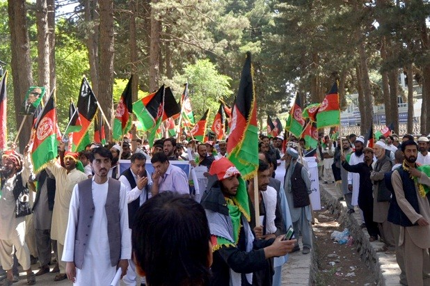 DURAND LINE PROTEST