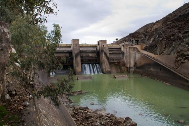 Dam-on-Kabul-River