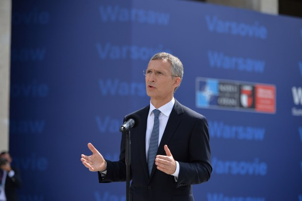 Doorstep statement by NATO Secretary General Jens Stoltenberg at the start of the NATO Summit in Warsaw