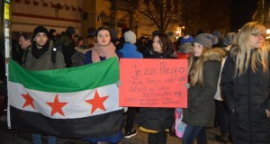 Heidelberg: Candlelight vigil for the victims of the fighting in Aleppo By Aurang Zeb Khan Zalmay