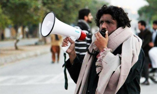 Lecturer and rights activist Salman Haider