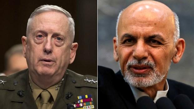 Mattis-calls-Ghani