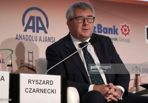 RYSZARD CZARNECKI, VICE PRESIDENT, EUROPEAN PARLIAMENT