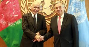 Ghani UN chief